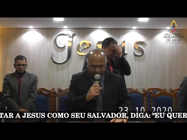 CULTO DE DOUTRINA - AD SÃO MIGUEL DOS CAMPOS - 23/10/20