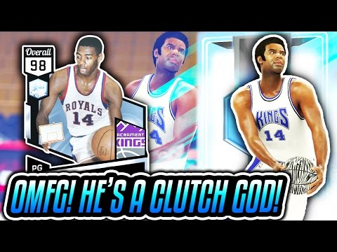 DIAMOND 98 OVERALL OSCAR ROBERTSON IS A CLUTCH GOD! NBA 2K17 MyTEAM ONLINE GAMEPLAY!
