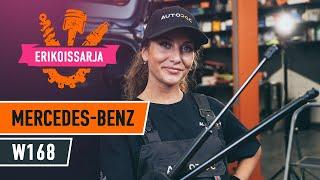 MERCEDES-BENZ A-CLASS Öljynsuodatin asentaa : videokäsikirjat