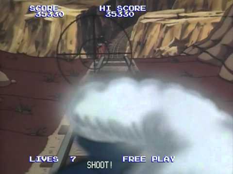 Badlands (1984 Konami) Start to Finish on Daphne Emulator w/ Actual Gameplay