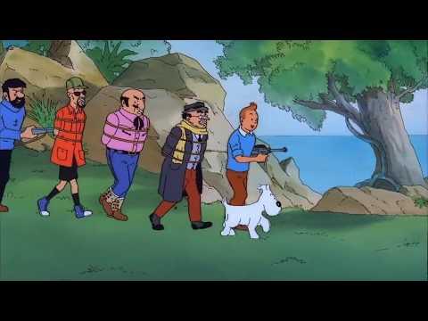 Flight 714 part 2 The Adventures Of Tintin
