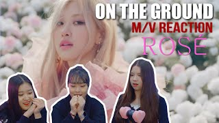 ENG)[Ready Reaction] ROSÉ - 'On The Ground'ㅣM/V REACTION