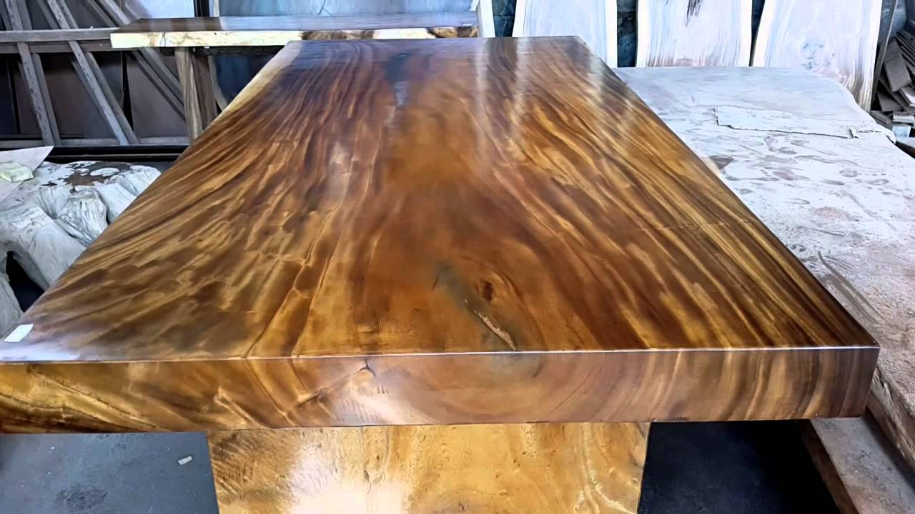 Bali Wood Slab Acacia Wood Youtube