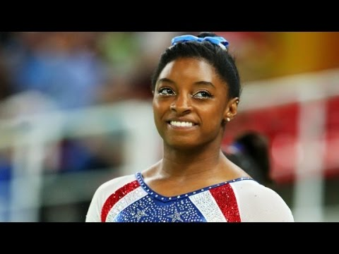 Simone Biles wins Olympic all-around gold