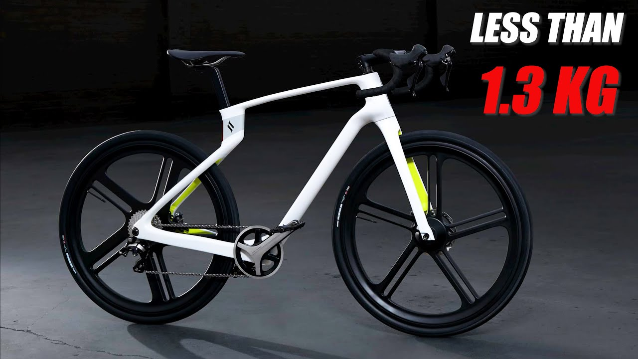 First 3D Printed Carbon Fiber production Electric Unibody Bike Superstrada