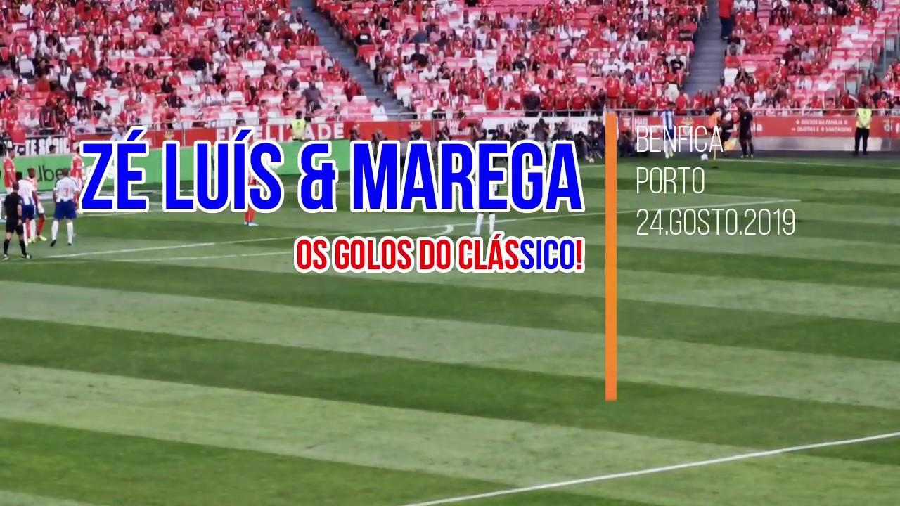 Os golos do Clássico! Benfica 0 x 2 Porto 24.08.2019 - YouTube