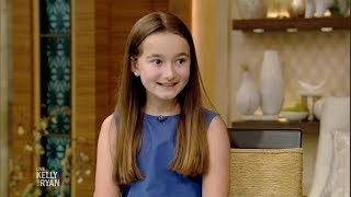 "9-Year-Old Author Kate Gilman Williams Talks About Her Book ""Let's Go on Safari!"""