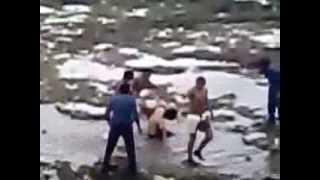 مجموعة شباب يعتدون على شاب أعزل في أحد شواطئ الدار البيضاء