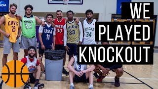 D3 Basketball Team PLAYS GAME OF KNOCKOUT?!