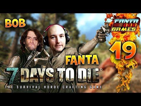 7Days To Die - Ep.19 :  OURS VS ZOMBIE !! - Fanta et Bob COOP Let's Play Survie Zombie
