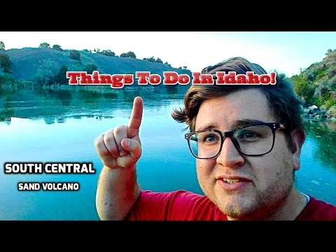 Things to do in Idaho | South Central | Sand Volcano