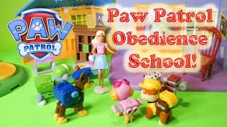 Paw Patrol Nickelodeon Paw Patrol Goes To Obedience School A Paw Patrol Video Parody