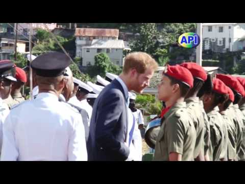 Prince Henry of Wales Visit to St. Vincent and the Grenadines as Part of His Caribbean Tour 2016