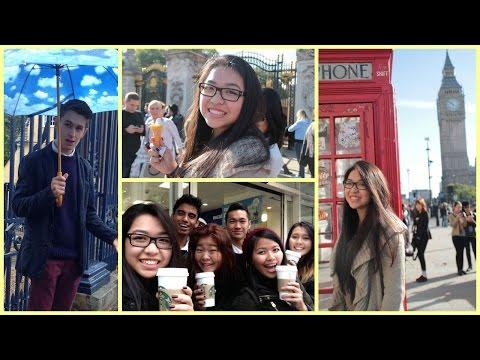 VLOG: UK Part 2 - Crepes, A Tour Guide & Buckingham Palace | iamdazale