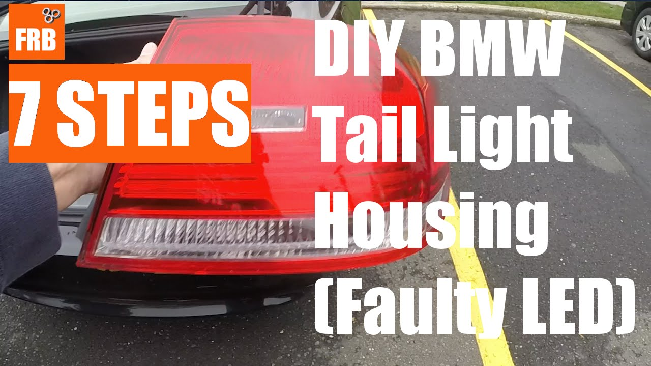 Bmw 2007 328i E90 E92 Saved 230 Diy Tail Light Replacement Headlight Wiring Diagram By Frb Youtube