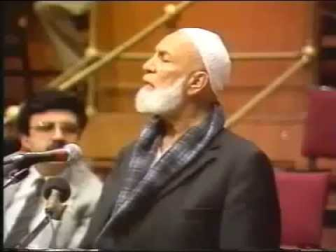 "Famous Muslim Christian debate ""Is Jesus God?"" Ahmed Deedat Vs Anis Shorrosh"