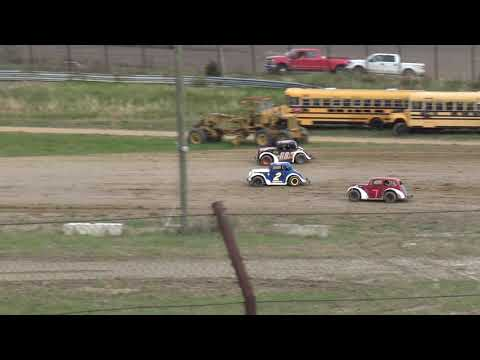 Brushcreek Motorsports Complex | 11/4/18 | Ohio Valley Roofers Legends Car Series | Heat 1