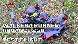 Walkera Runner 250 Advance Drone 5.8G FPV GPS Racing Quadcopter RTF - Flight Test