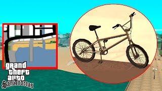 Как кататься на BMX по дну в GTA San Andreas?
