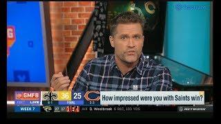 """Kyle Brandt """"evaluated"""" Saints def. Bears 36-25; Teddy Bridgewater: 23-38, 281 Yds, 2 TD"""