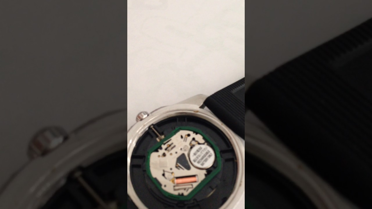 how to change a watch battery seiko