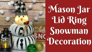 christmas-crafts-mason-jar-lid-ring-snowman-decoration