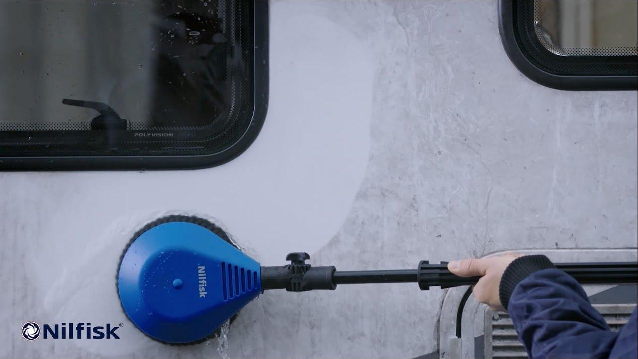 Storslået Nilfisk roterende børste reklamespot - YouTube GL88