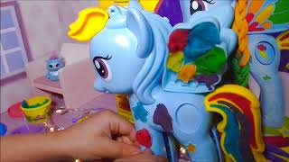 Play Doh Balls and My Little Pony Fun & Creative for Kids