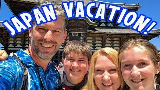 Japan Vacation! 14 Days in One Video! Full Vacation Vlog