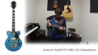 Gretsch G2655TG-P90 LTD Streamliner
