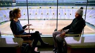 Erin Andrews interviews Randall Cobb