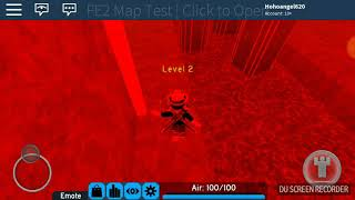Roblox FE2 Mobile test map volcano [Insane]