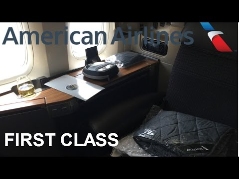 American Airlines First Class 777-300ER Los Angeles to London Heathrow