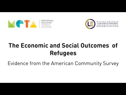 Using Data from the ACS  to Understand the Social and Economic Outcomes of Refugee Resettlement