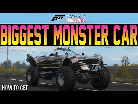 Forza Horizon 4 - The Biggest Car... In The World! - How To Get NEW Regalia thumbnail