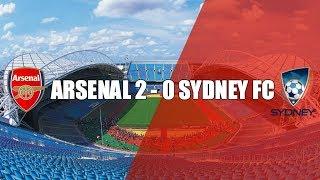SYDNEY FC 0 v 2 ARSENAL   Post Match Thoughts