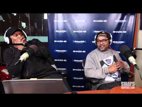 Mad Skillz Kicks a Freestyle on Sway in the Morning