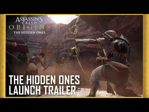 Assassin's Creed Origins: The Hidden Ones DLC  Story Expansion  Launch Trailer  Ubisoft US