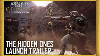 Assassin's Creed Origins: The Hidden Ones DLC - Story Expansion | Launch Trailer | Ubisoft [NA]
