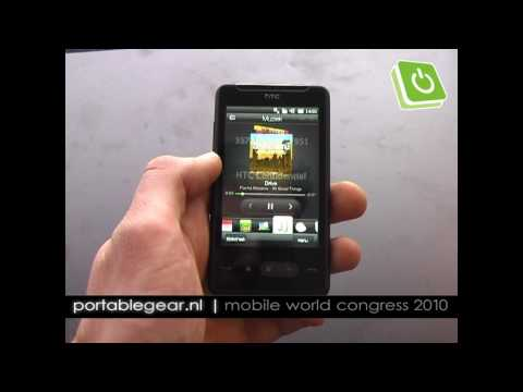 HTC HD Mini hands-on
