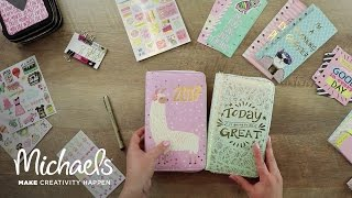 How To Organize Your New Year Planner | Michaels