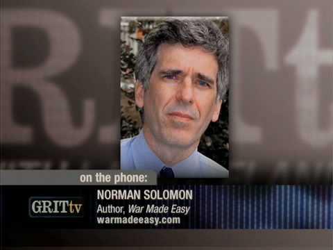GRITtv Daily Newsmaker, December 15, 2008: Norman Solomon