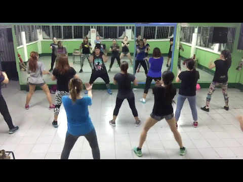 13 minute Zumba  Retro medley Fitness Workout w Karlo Kim Carino at MyGym