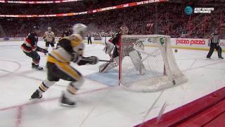 Condon robs Schultz with shaft of the stick