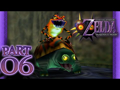 The Legend of Zelda: Majora's Mask - Part 6 - Woodfall Temple