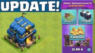 RATHAUS 12 ist da! ☆ Clash of Clans Update ☆ CoC