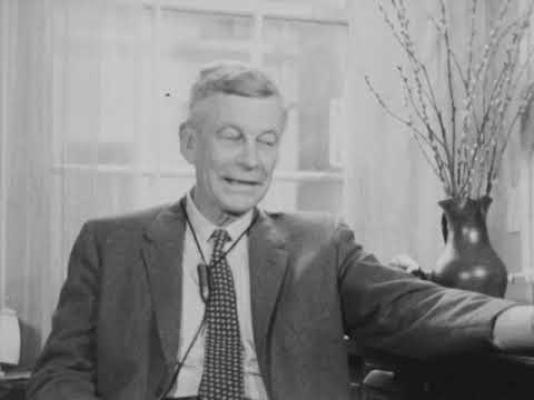 Our Problems in Education - Huston Smith interviews Mark Van Doren and Dr William Ernest Hocking