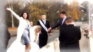 Свадьба - Сергей и Анастасия (клип)