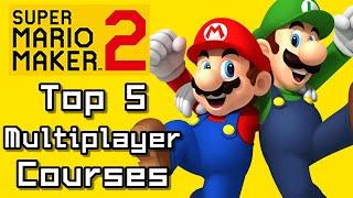 Super Mario Maker 2 Top 5 MULTIPLAYER Courses with Mario & Luigi (Switch)