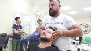 ASMR Turkish Barber Face and Head Massage 97